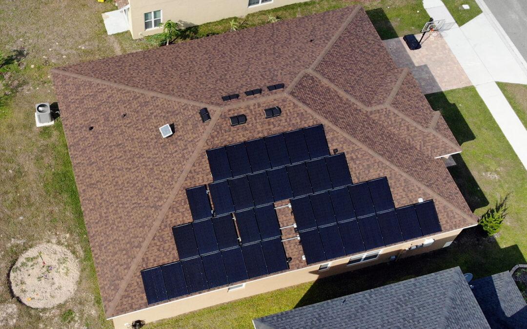 Groveland Florida Solar Installation 11.5kW #2