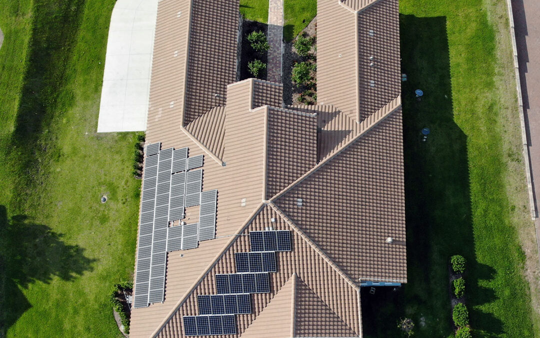 Groveland Florida Solar Installation 18.6kW