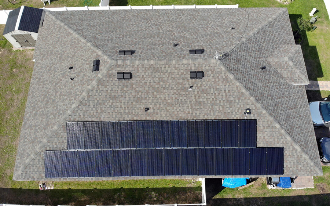 Groveland Florida Solar Installation 7.5kW #1