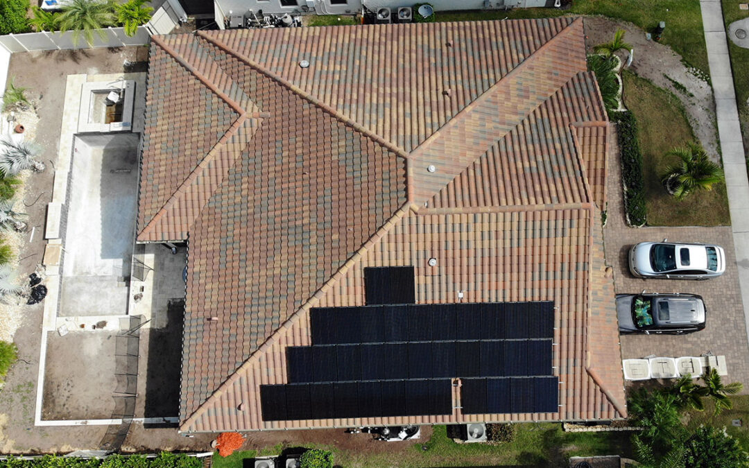 Parkside Florida Solar Installation 10.6kW