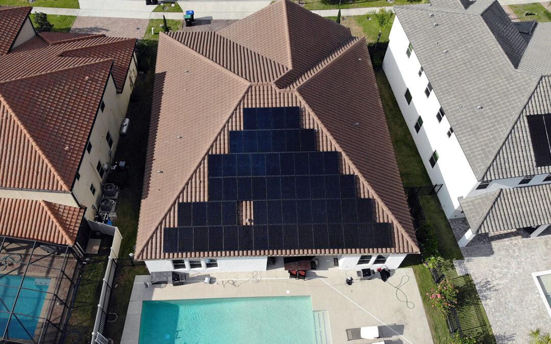 Parkside Florida Solar Installation 17.6kW