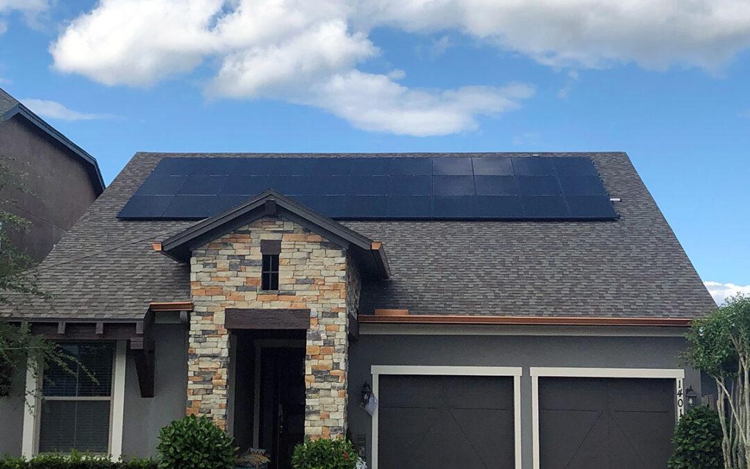 Winter Garden Florida Solar Installation 10.4kW