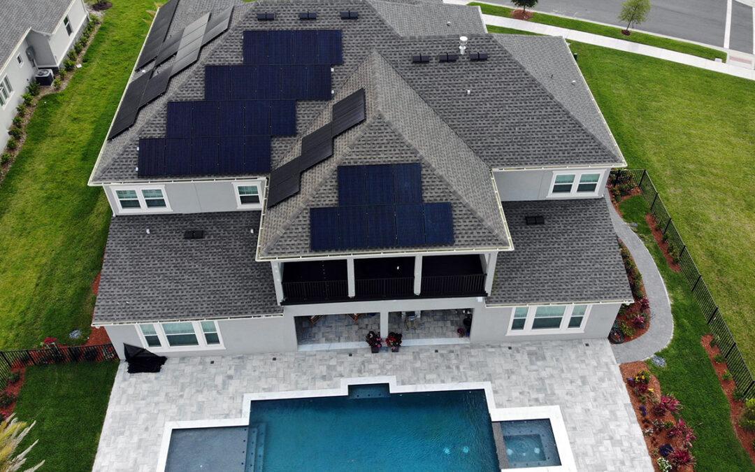 Winter Garden Florida Solar Installation 18.2kW