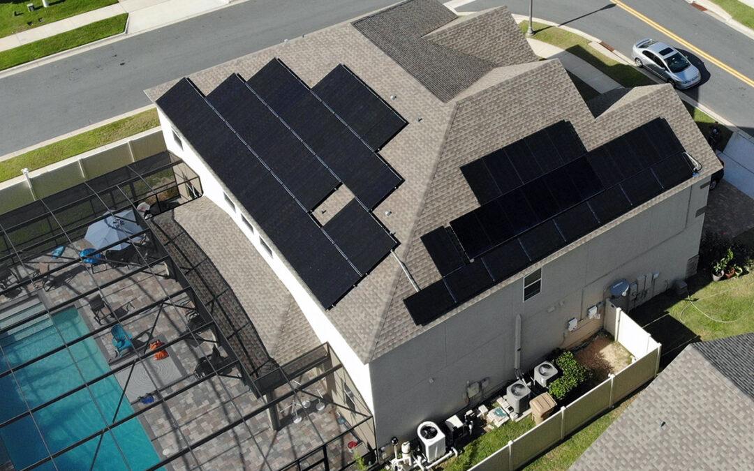 Winter Garden Florida Solar Installation 19kW