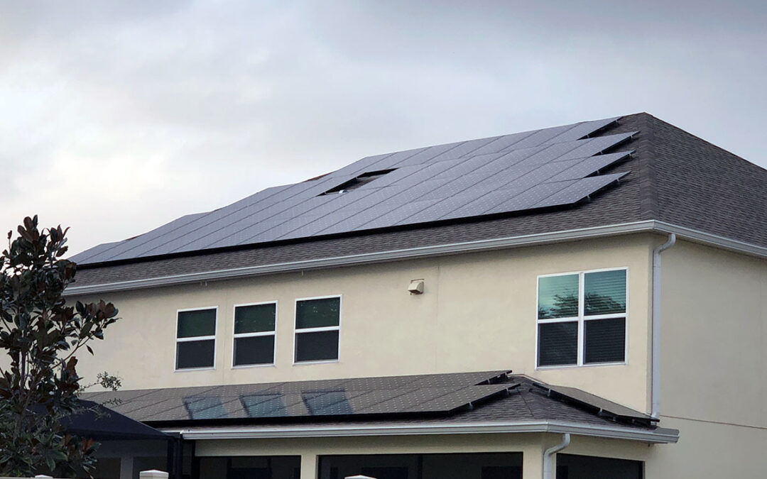 Winter Garden Florida Solar Installation 20.5kW