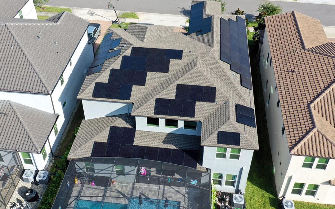 Winter Garden Florida Solar Installation 24.1kW