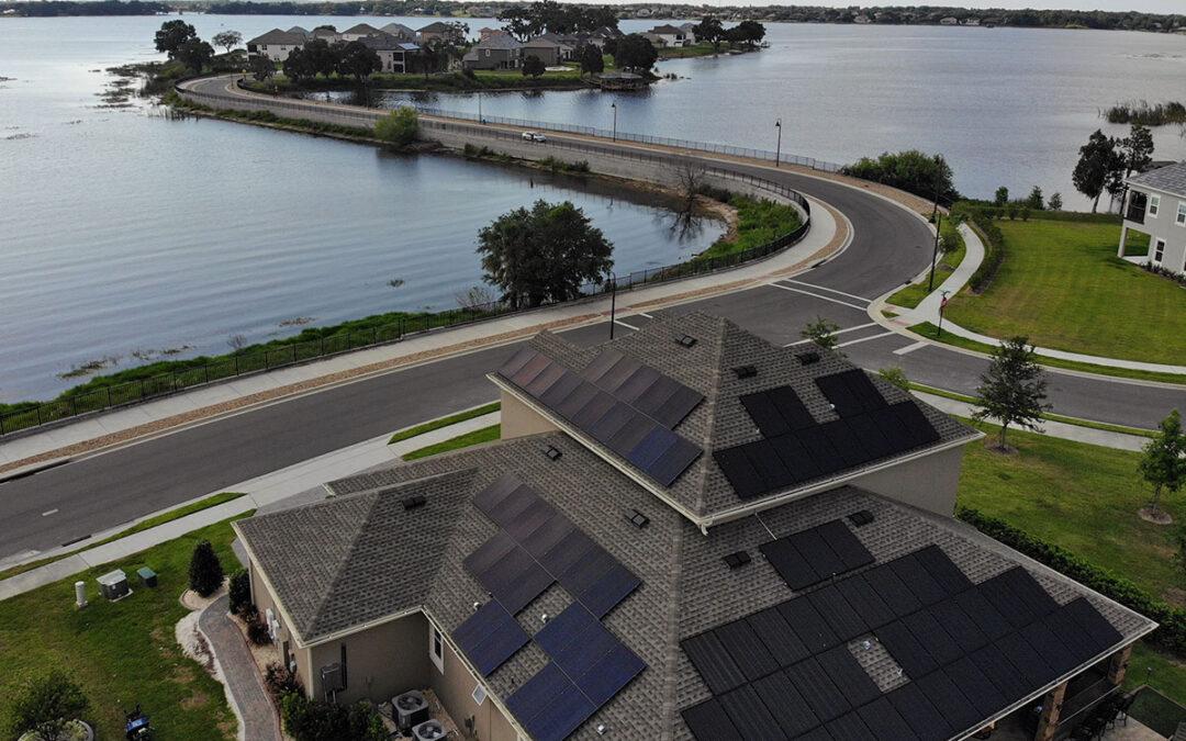 Winter Garden Florida Solar Installation 26.3kW