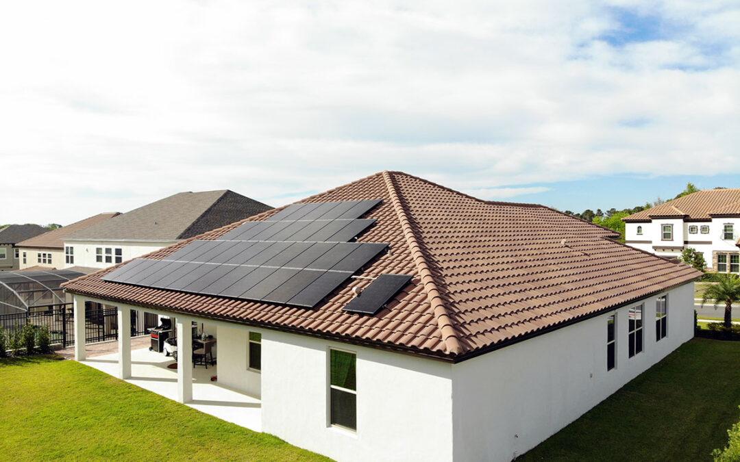 Winter Garden Florida Solar Installation 9.5kW
